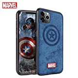 Marvel Avengers iPhone 11 ケース、Case for iPhone 11 6.1インチ、 Blue-Captain America、 ……