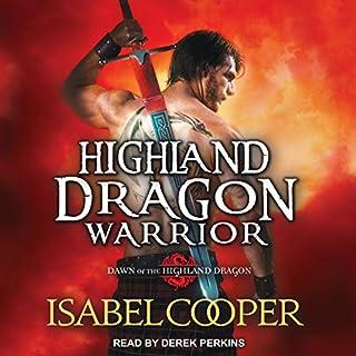 Highland Dragon Warrior audiobook cover art