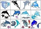 Temporary Tattoos collection Collezione di tatuaggi temporanei (Delfín Tatuaje Dolphin Tattoo)