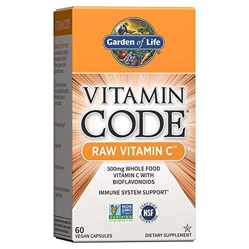 Living vitamina C, 60 Capsulas Veggie - Jardín de la Vida