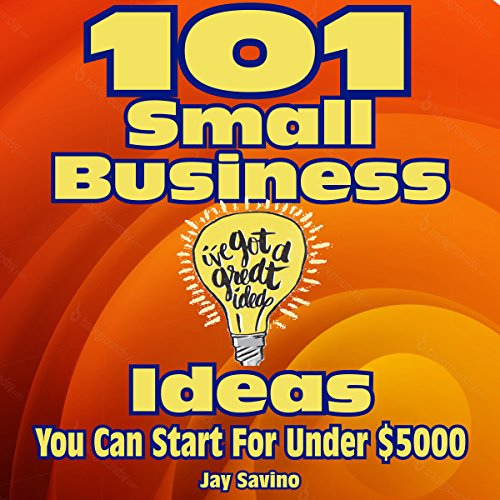 101 Small Business Ideas You Can Start for Less than $5,000 audiobook cover art