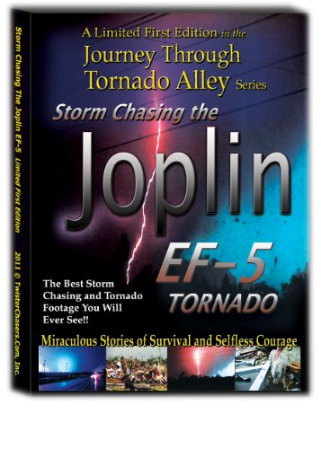 Storm Chasing the Joplin EF-5 Tornado A Journey Through Tornado Alley Limited Edition DVD