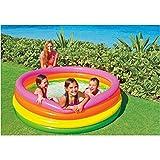 Intex Development Co Ltd Piscina 168X46 4 Tubos Colores 617 litros