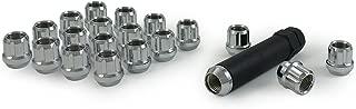 Gorilla Automotive 20033SD Acorn Open End Chrome Small Diameter Lugs (12mm x 1.50 Thread Size)
