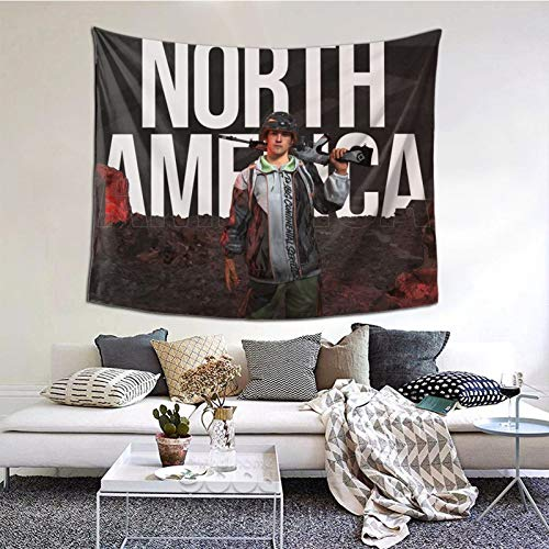 GEHIYPA North America Race Poster Awall Hanging Tapestry 3d Printing Wall Poster Decor For Room Living One Size