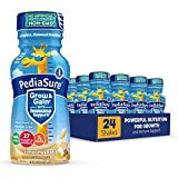 Pediasure Base Grow & Gain Kids' Nutritional Shake with Protein, DHA, and Vitamins & Minerals, S'Mores, 8 Fl Oz, 24 Count