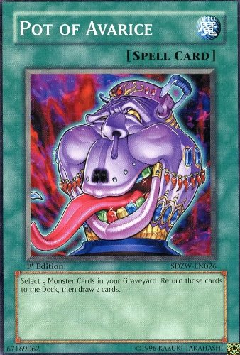 Yu-Gi-Oh! - Pot of Avarice (SDZW-EN026) - Structure Deck Zombie World - 1st Edition - Common