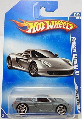 Hot Wheels 2009-155 Dream Garage Porsche Carrera GT Silver/Grey 1:64 Scale