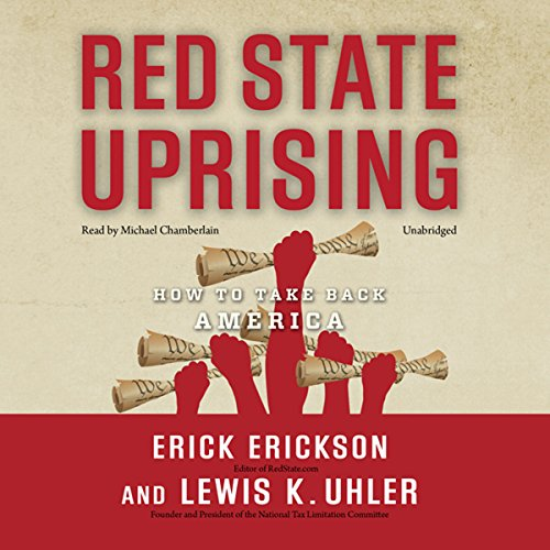 Red State Uprising audiobook cover art