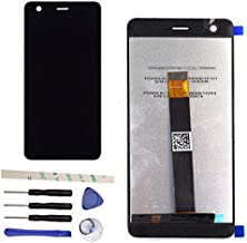 LCD Display Touch Screen Digitizer Assembly Replacement for Nokia 2 N2 TA-1029 TA-1035 (Black)