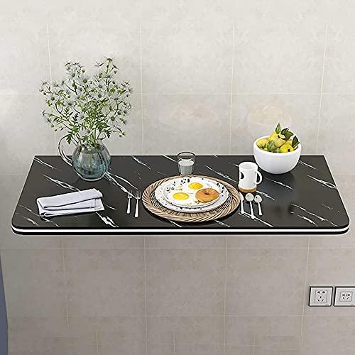Sywlwxkq Escritorio de Pared Flotante, Mesa Plegable montada en la Pared para lavadero Cocina Mesa de Comedor para Espacio pequeño para lavadero Hogar Bar Cocina y Comedor