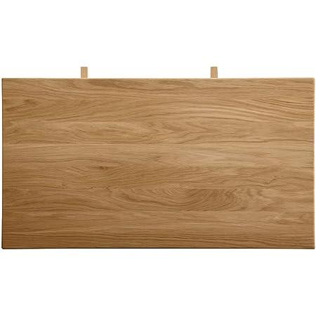 Amazon Brand Dominik Rallonge Chêne sauvage huilé naturel 53,7 x 90 x 7 cm