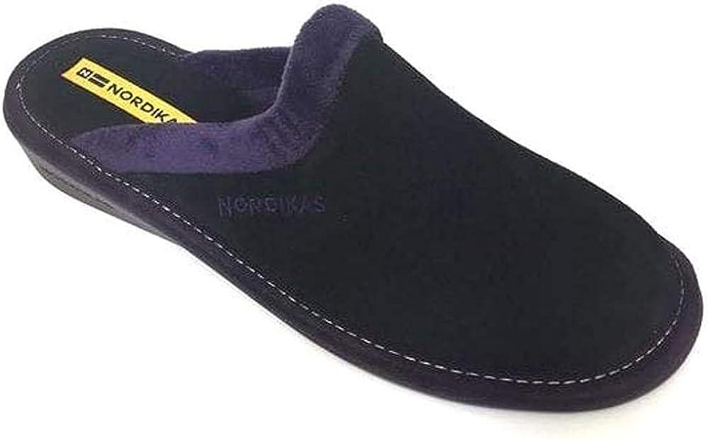 Nordikas Norwood III Mens Leather Slippers