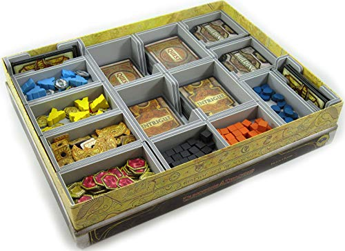 Insert - For Lords of Waterdeep and Expansion: Scoundrels of Skullport