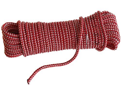 Multifonction Corde polyester 15 m 6 mm 190 kg déchirure - PES pour Nautik, Hobby, l'atelier