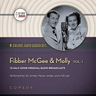Fibber McGee & Molly, Volume 1 audiobook cover art