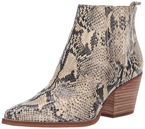 Sam Edelman Women's Winona Western Boot, Beach Multi Snake Print, 6 Medium US