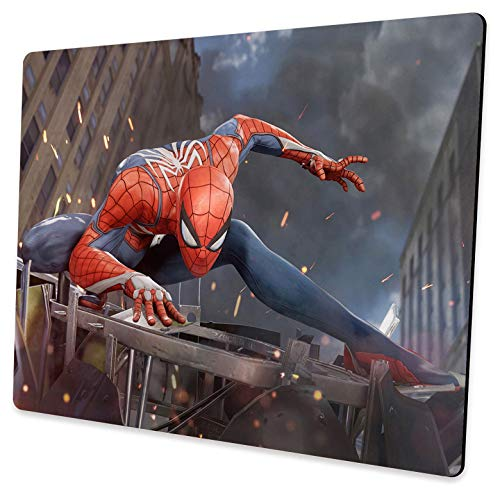 Design Professional Custom Spiderman Mouse Pad, Non-Slip Rubber Large Gaming Mouse Pad, Suitable for Laptop, Office Computer and Home Mouse Pad