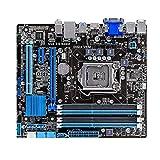 RKRLJX Scheda Madre del Computer Scheda Madre Desktop Fit for ASUS B75M-PLUS Presa B75 LGA 1155 I3 I5 I7 DDR3 16G UATX UEFI BIOS Mainboard Scheda Madre