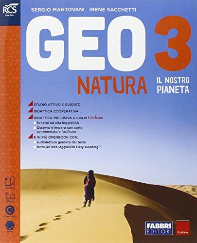 Geonatura. Atlante osservo e imparo-Extrakit-Openbook. Per la Scuola media. Con e-book. Con espansione online: 3