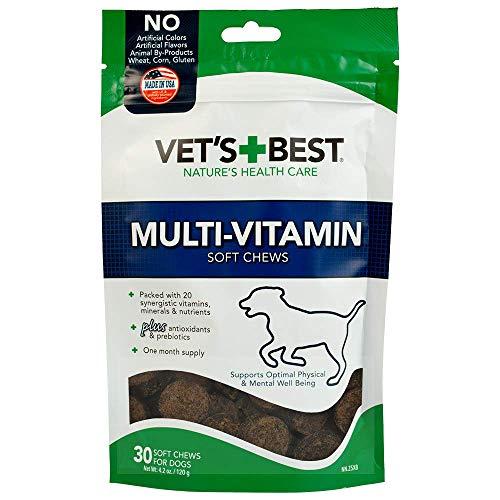 Vet's Best Multi-Vitamin Soft Chew Dog Supplements