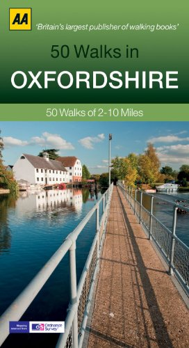 50 Walks in Oxfordshire (AA 50 Walks series)