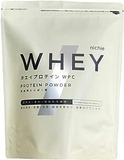 nichie ホエイプロテイン WPC 無添加 アメリカ産 プレーン味 1kg