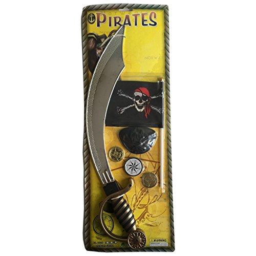 Acan Pirates - Set de Espada Pirata de Juguete con complementos