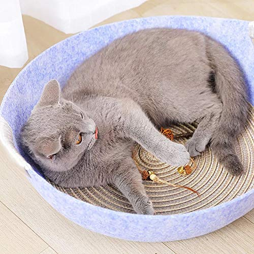 XM-kennel Comfortable New Summer Cat Litter Cat House Pet Nest Cat Cat House Cat Bed Supplies Cat House Net Red Cat Litter Cat Pot Four Seasons Universal Soft