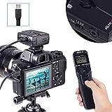 VILTROX Wireless Shutter Timer Remote Release Control with Intervalometer for Sony Camera A9 A9II A3000 A5000 A5100 A6300 A6500 A58 A7 A7II A7III A7R A7RII A7RIII A7S HX300 HX400 HX50 RX100M3 RX100V