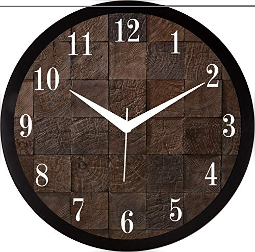 RAG28 11.75 Inches Designer Wall Clock for Home / Living Room / Bedroom / Kitchen (9234)
