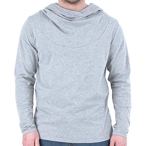 Newfacelook Élégant Style Hommes Occasionnels Mince Chemises habillées Belle Men's Hoodies Shirt Top Sweatshirt Collection