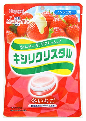 春日井製菓 キシリクリスタル 冬いちご 67g ×6袋