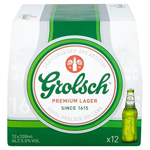Grolsch Premium Lager 12 x 330ml