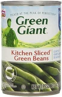 Green Giant Kitchen Sliced Green Beans 14.5 Oz (Pack of 6)