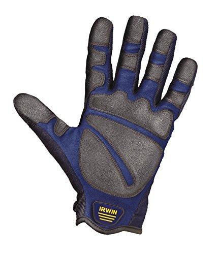 Irwin Bau-Handschuhe Grösse XL, Arbeitshandschuh für grobe rauhe Arbeiten, 10503827