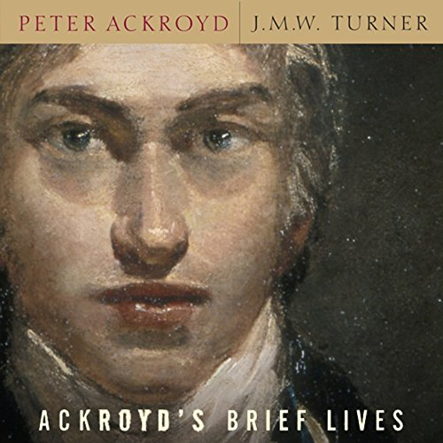 J. M. W. Turner audiobook cover art