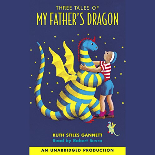 Three Tales of My Father's Dragon audiobook cover art