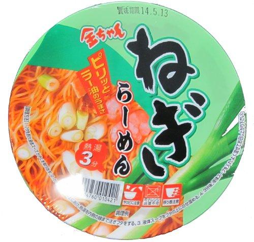 徳島製粉 金ちゃん ねぎラーメン 106g×12個