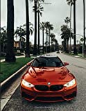 BMW M3 Red XDrive Undated Quarterly Planner For Men: Custom interior to write in with to do lists, notes,log book, calendar. Perfect gift for  birthday or any occasion