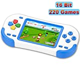 Best Handheld Game Consoles - TEBIYOU Handheld Game Console for Adults Kids Seniors Review