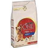 Purina ONE MINI Pienso para Perro Adulto Buey y Arroz 1,5 Kg