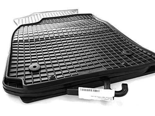 Caoutchouc tapis de sol pour audi a3 (8L) s3 d'outils de qualité de voiture tapis caoutchouc 4 pièces noir