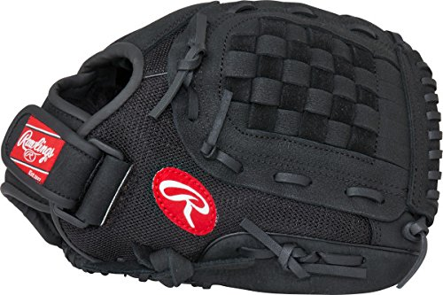 Rawlings  Youth Mark of a Pro Light Glove, Black, 11.5', Worn on Right...