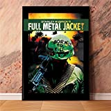 IFUNEW Poster Wandbilder Full Metal Jacket War Filmplakate