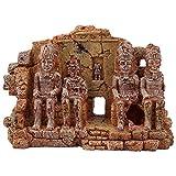 Adorno de Resina de Acuario simulado ajardinado rocoso Acuario pecera terrario artesanía Decorativa
