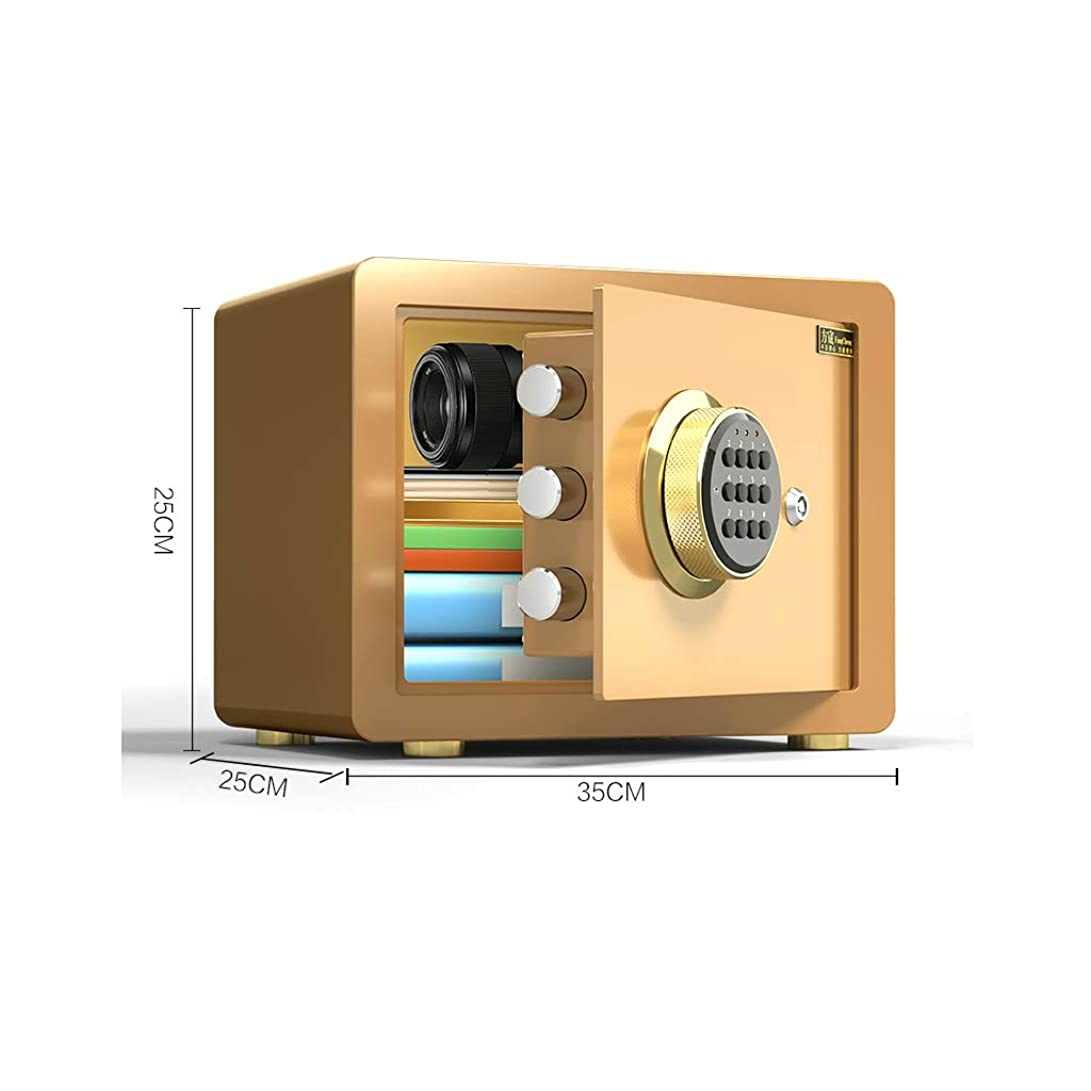 無実配管工描く誘導ライト付き金庫、電子デジタル証券安全鋼構造、ホームオフィスホテルビジネス用のロック付き