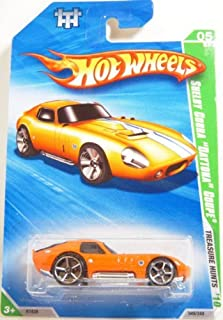Hot Wheels Shelby Cobra Daytona Coupe 05/12 Treasure Hunts 2010 049/240