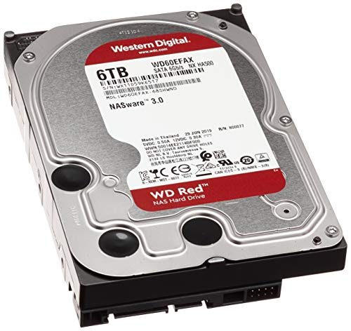 HDD WD NAS 3,5 inch 6TB 5400RPM 256MB SATA3 Red