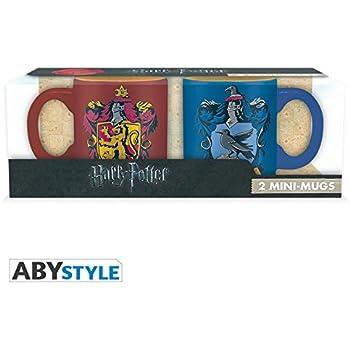 ABYstyle -HARRY POTTER - Set 2 mini-Tazas - 110 ml - Gryffindor y Ravenclaw: No Name: Amazon.es: Hogar